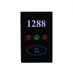 Интеллектуальный дверной звонок с подсветкой номера
