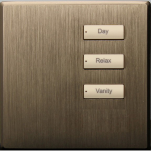 3 клавишная интеллектуальная панель с кнопкой подстройки