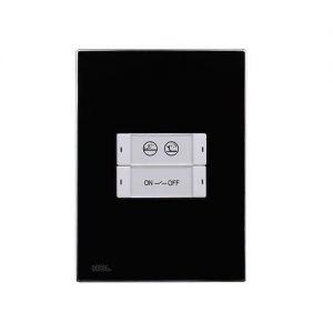4-клавишная панель (US) со сменными этикетками для клавиш