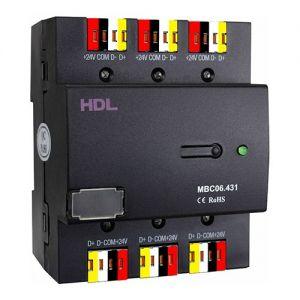 ХАБ шины HDL buspro на 6 портов